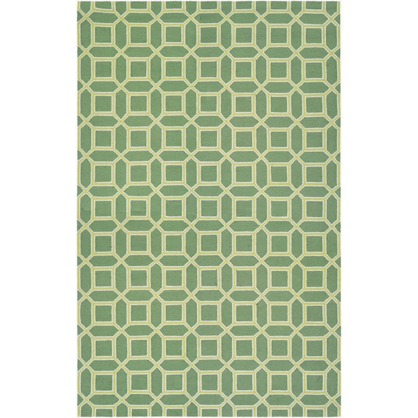 "BOWERY Havemeyer/Fern-Yellow 3'4"" x 5'4"" Rug"