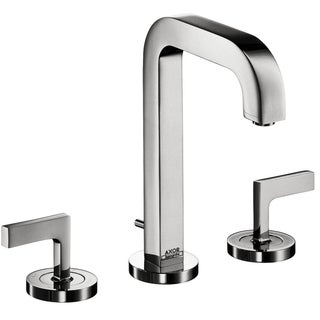Axor Citterio Chrome Widespread Faucet with Lever Handle