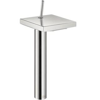 Axor Starck X Single Hole 12-inch Chrome Bathroom Faucet