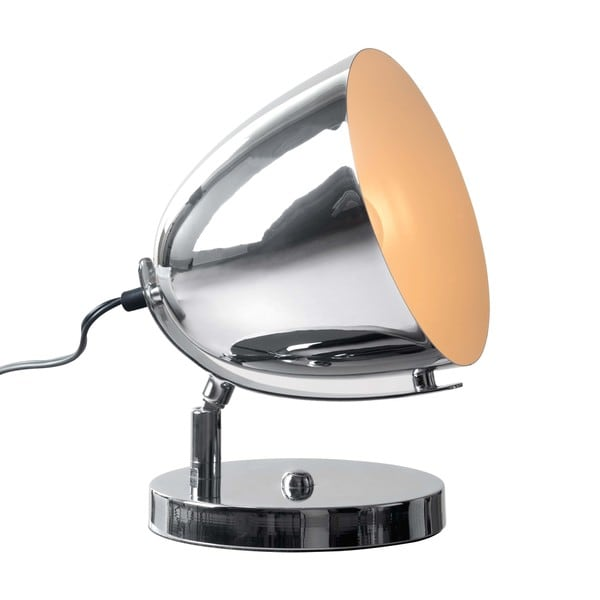 Jog Chrome Table Lamp