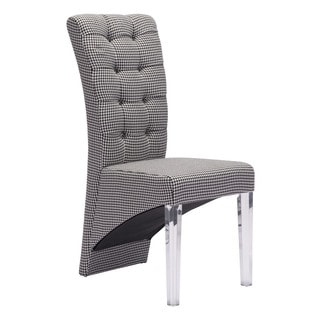 Waldorf Dining Chair Houndstooth (set of 2)