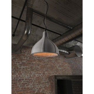 Prospect Concrete Grey Ceiling Lamp