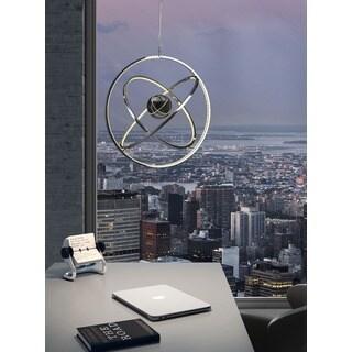 Kaweah Chrome Ceiling Lamp