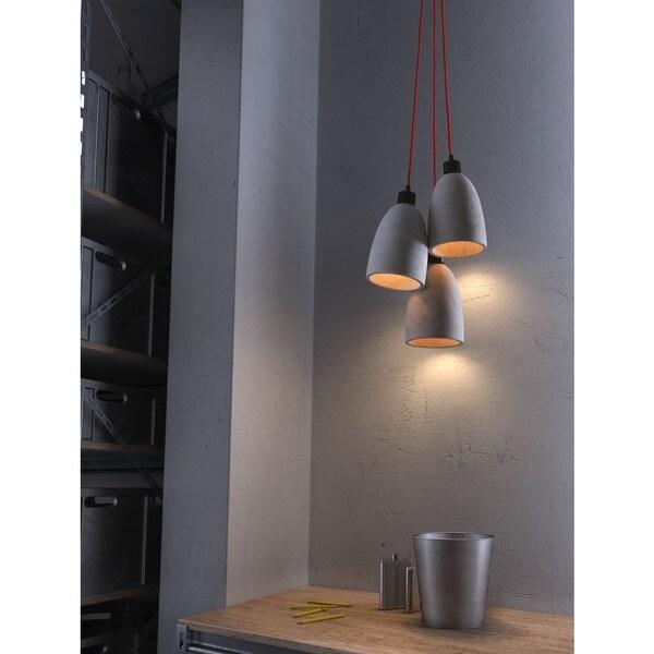 Fancy Concrete Grey Ceiling Lamp