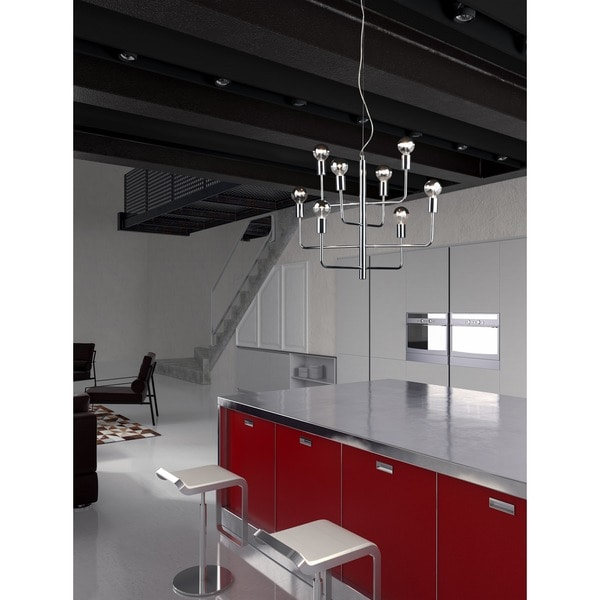Desire Chrome Ceiling Lamp
