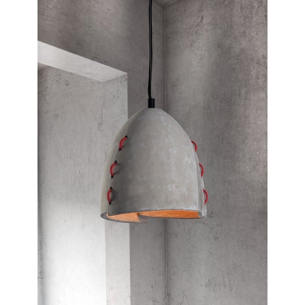 Confidence Concrete Grey Ceiling Lamp
