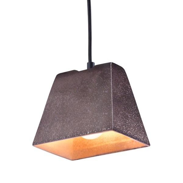 Auckland Rustic Black Ceiling Lamp