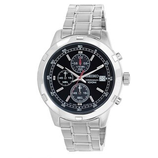 Seiko Men's 'Chronograph' Stainless Steel Quartz Watch