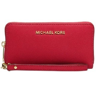MICHAEL Michael Kors Jet Set Travel Large Coin Multifunction Phone Wristlet