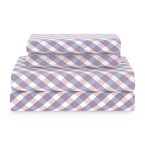 Tommy Hilfger Full tilt Check Sheet Set