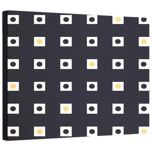 E by Design Multi-check Geometric Print Wall Art