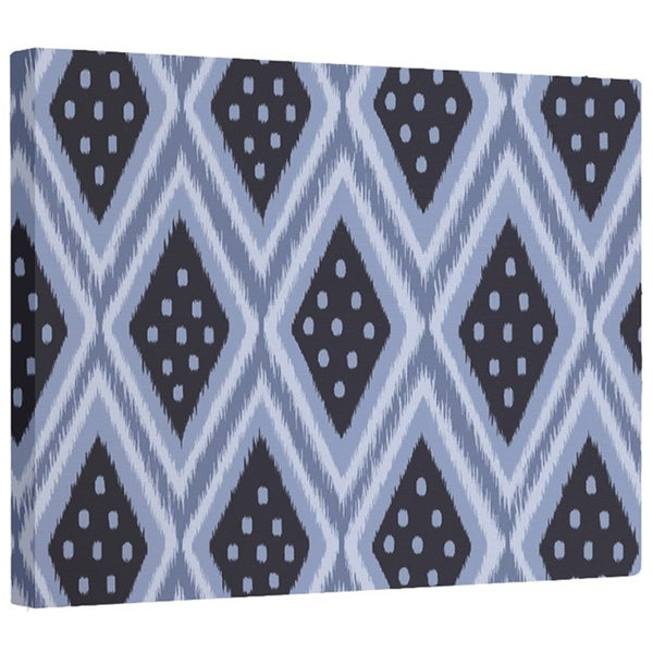 E by Design Static Diamond Geometric Print Wall Art