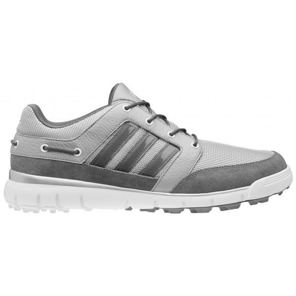 Adidas Men's Greensider Light Onyx/ Dark Metallic Silver/ Running White Golf Shoes
