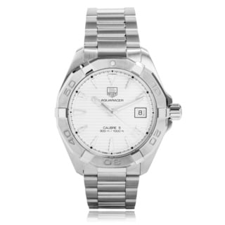 Tag Heuer Men's WAY2111.BA0910 'Aquaracer' Automatic Stainless Steel Watch
