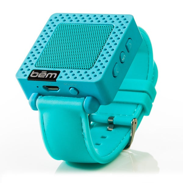 Bem Bluetooth Speaker Watch - Wireless Speaker - Blue