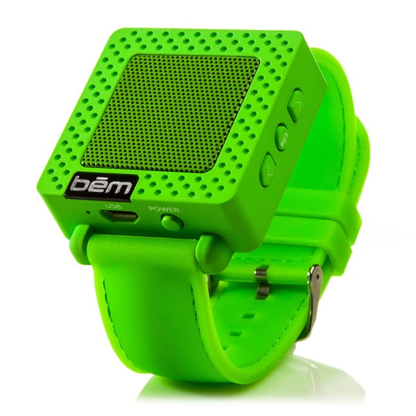 Bem Bluetooth Speaker Watch - Wireless Speaker - Green