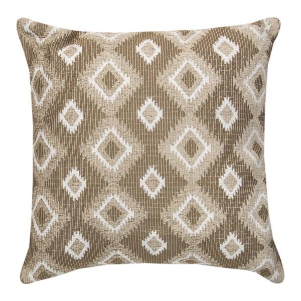 Navajo Neutral Throw Pillow