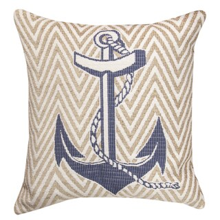 Nautical Blue Throw Pillow