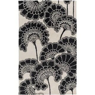 Florence Broadhurst : Hand-Tufted Aleena Floral Indoor Rug (5' x 8')