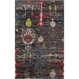 Hand-Knotted Felicity Ikat Cotton Rug (8' x 11')