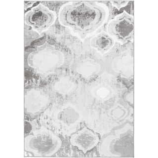 Tepper Jackson :Meticulously Woven Floral Nylon Rug (5'2 x 7'8)