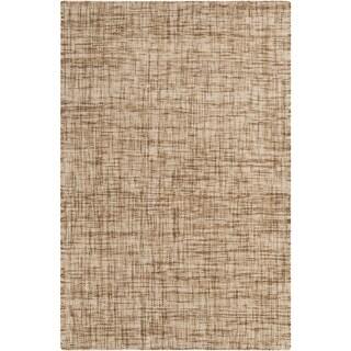 Hand-Woven Khloe Plaid Wool Rug (8' x 10')