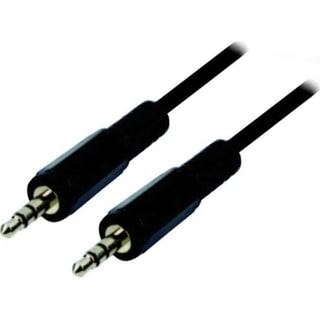 "Professional Cable 3.5 MM (1/8"") Stereo Cable Male to Male 12 Feet"