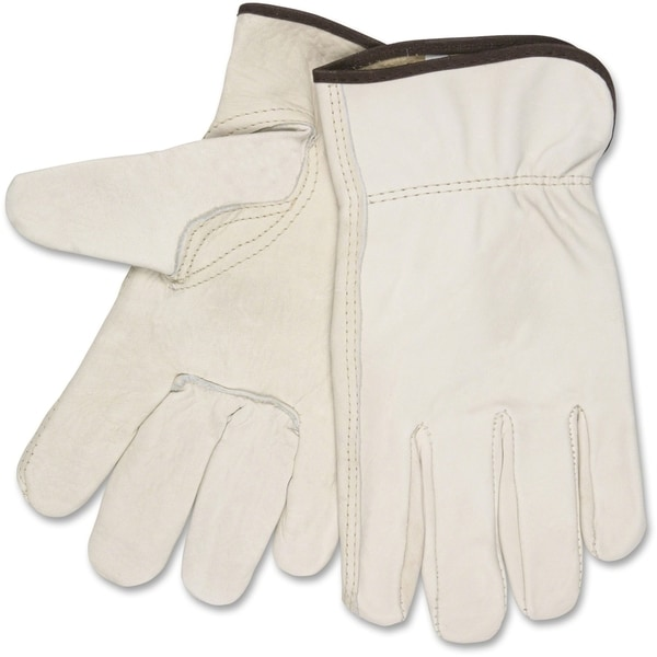 MCR Safety Cowhide Driver's Gloves XXL Size