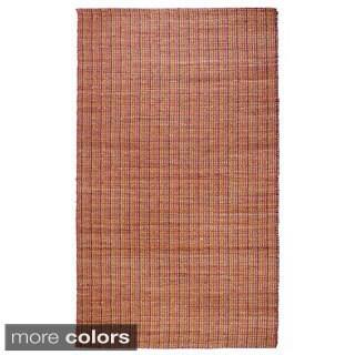 Hand-woven Regence Home Jute Trees Area Rug (7'5 x 9'5)
