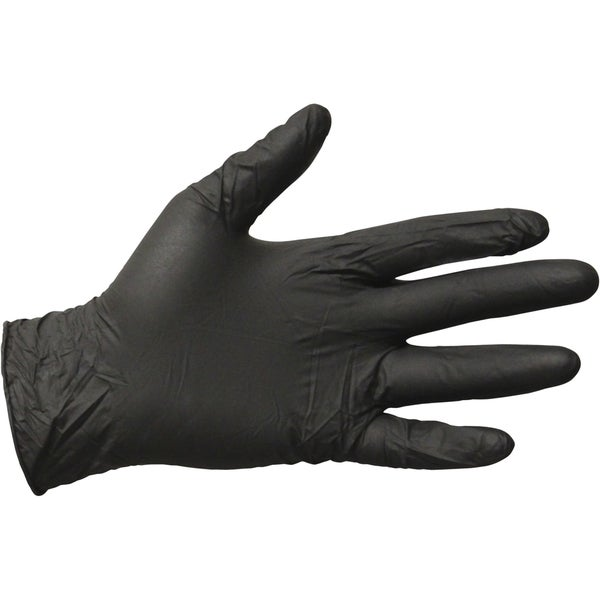 Impact Products Disposable Nitrile General Purpose Gloves Medium Size