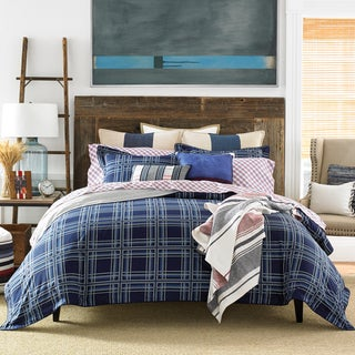 TH FARMHOUSE PLAID COMFORTER SET