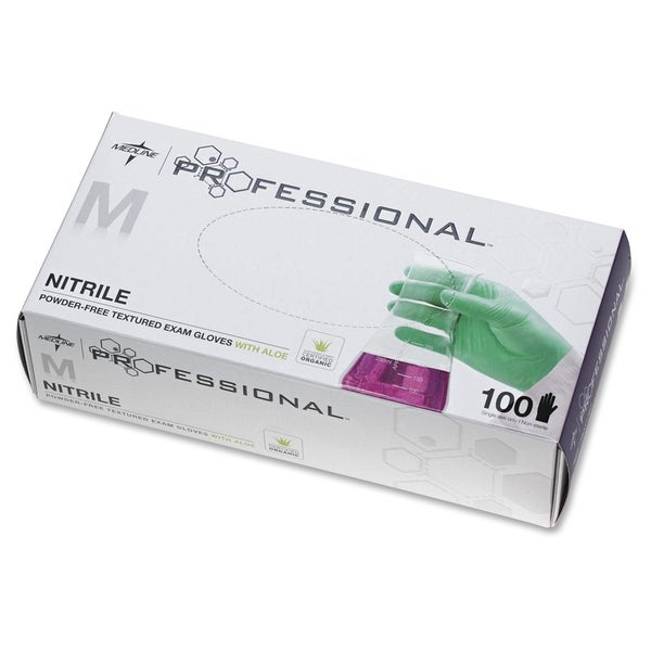 Medline Professional Series Aloetouch Gloves Medium Size
