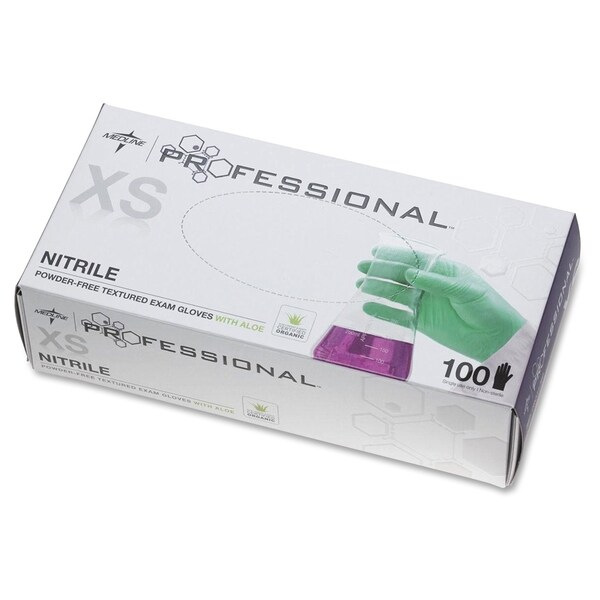 Medline Professional Series Aloetouch Gloves XSmall Size