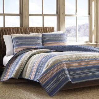 Eddie Bauer Yakima Valley Reversible Cotton 3-piece Quilt Set