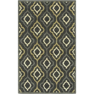 Candice Olson : Hand-Tufted Payten Morrocan Trellis Rug (9' x 13')