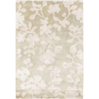 Candice Olson : Hand-Knotted Rodney Floral Indoor Rug (9' x 13')