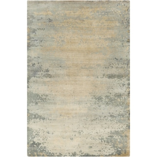 Candice Olson : Hand-Knotted Shiloh Abstract Indoor Rug (9' x 13')