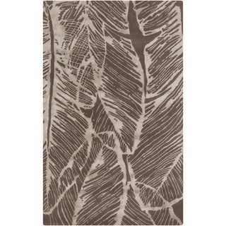 Candice Olson : Hand-Tufted Vaughn Floral Indoor Rug (9' x 13')