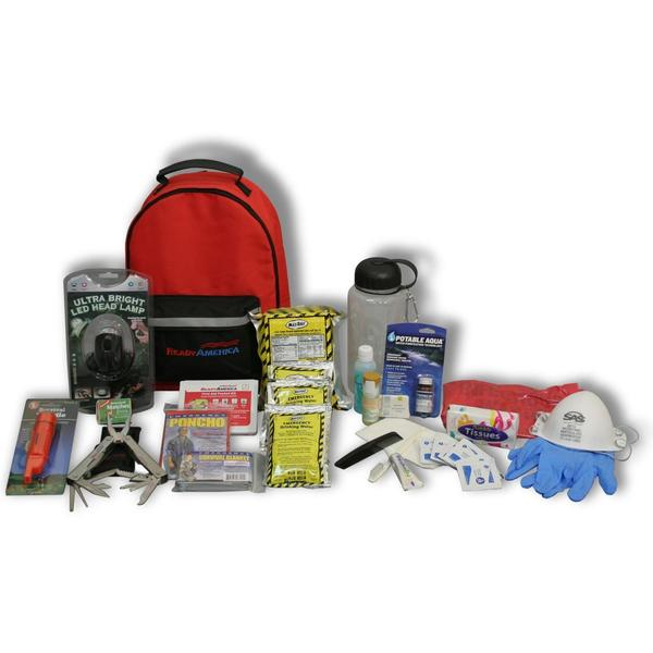 Ready America 1 Person 3 Day Deluxe Emergency Backpack