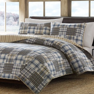 Eddie Bauer Sandpoint Reversible Cotton 3-piece Quilt Set