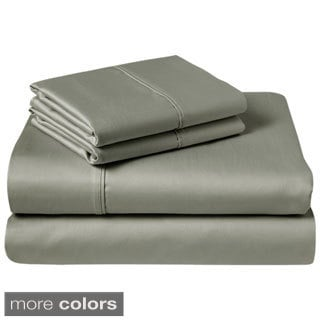 1200 Thread-Count Egyptian Cotton-Rich 4-Piece Sheet Set