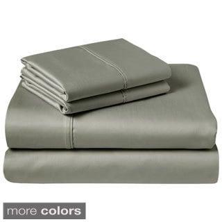 1200 Thread-Count Egyptian Cotton-Rich 4-Piece Sheet Set