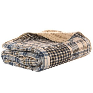 Eddie Bauer Sandpoint Quilted Cotton Throw