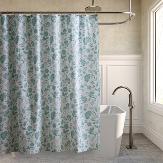 Tommy Bahama Sunkissed Day Harbor Blue Shower Curtain