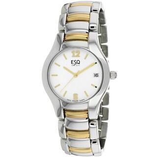 ESQ Men's 07300671 Previa Round Two-tone Bracelet Watch