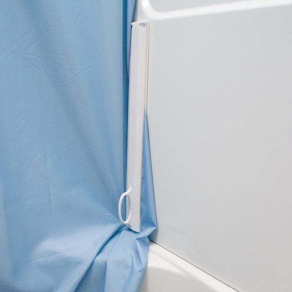 The Magna-Lock Shower Curtain Sealing System