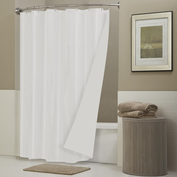 Maytex Never Leak Laminated Shower Curtain Liner - 17129086 ...