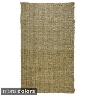 "Regence Home Hand Woven Jute Matrix Area Rug (7'5"" x 9'5"")"