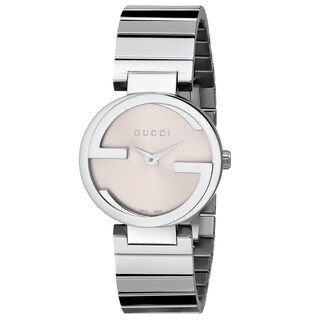 Gucci Women's YA133503 'Interlocking' Stainless Steel Watch