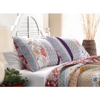 Greenland Home Fashions Geneva Patchwork Quilt Set